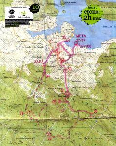 Mapa Rogaining Final